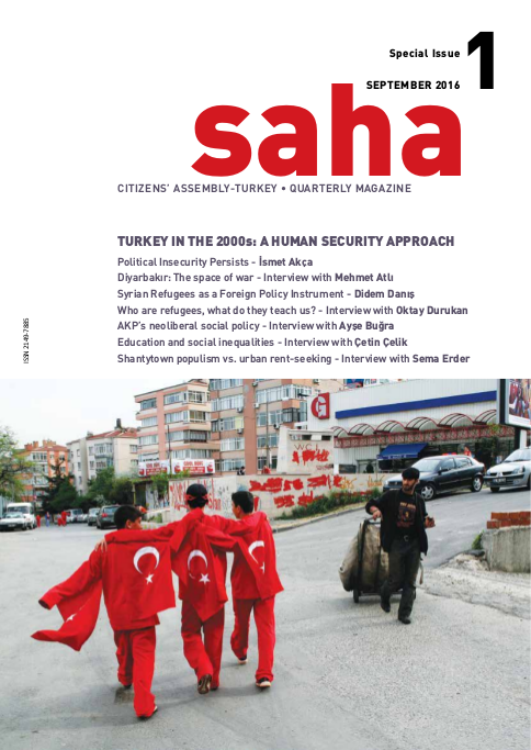 Saha (English) Issue 1: Turkey in the 2000s - A Human Security Approach